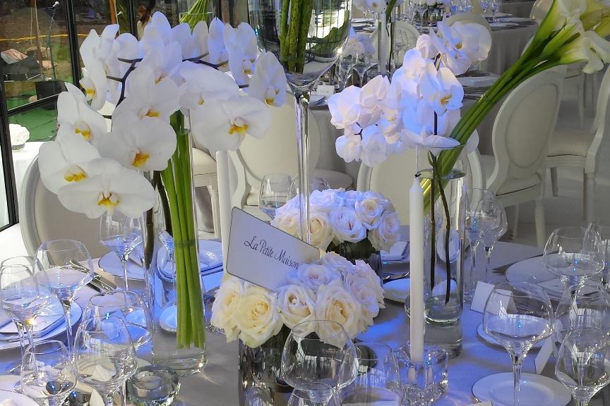 The Wedding Day vous propose une décoration sur-mesure pour vos événements